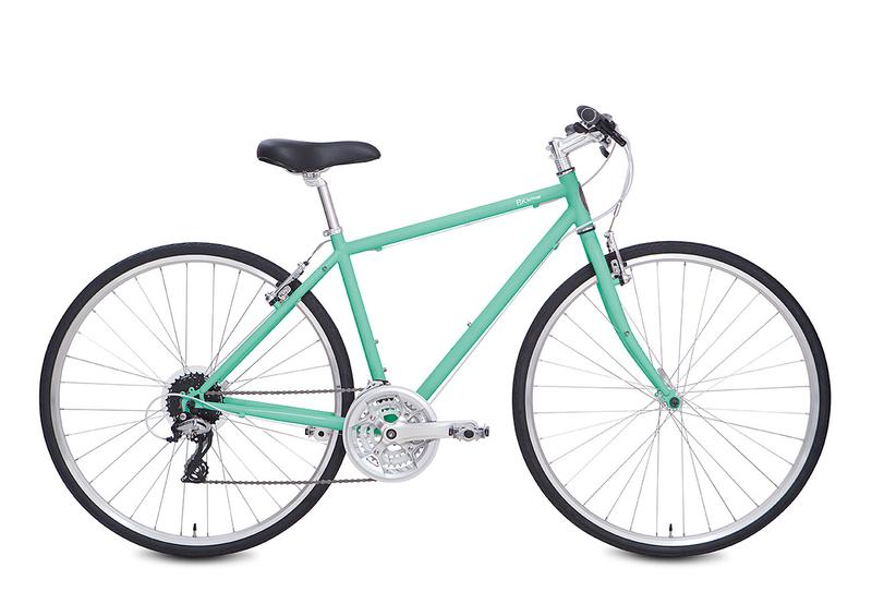 "Brooklyn Bicycle Co. Lorimer 24-sp 16"" + 18"" Soft Mint, 16"" Ivory $520"