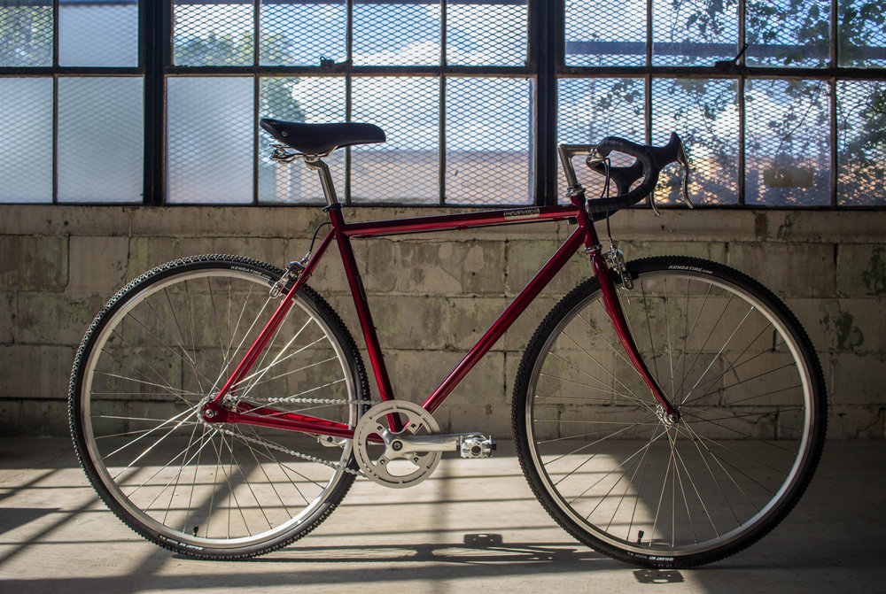 Detroit Bikes C-Type Red $600
