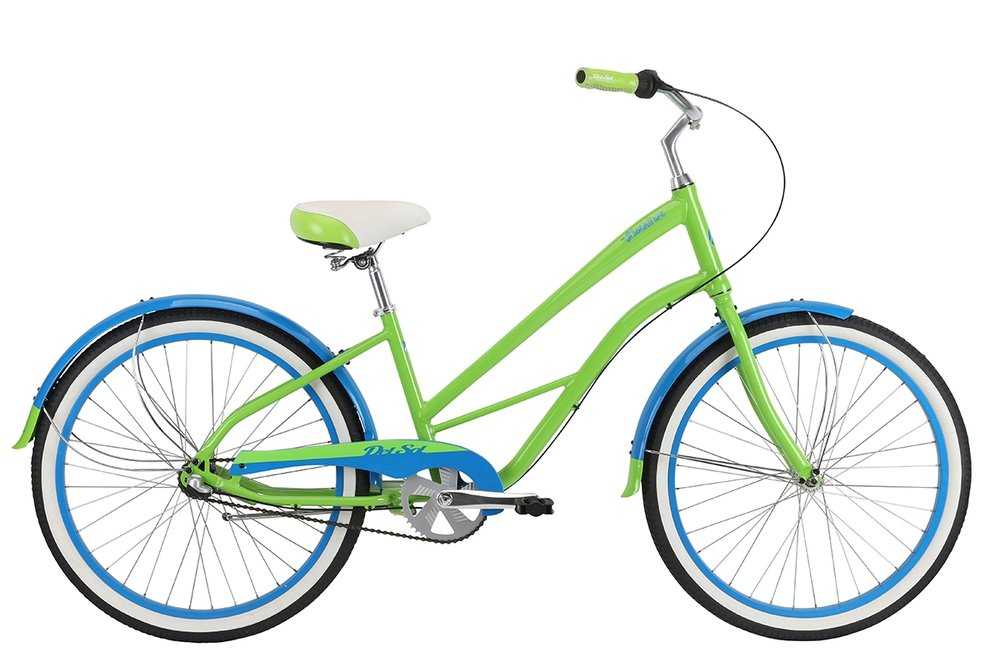 2018 Del Sol Shoreliner 3-speed Lime/Blue $400