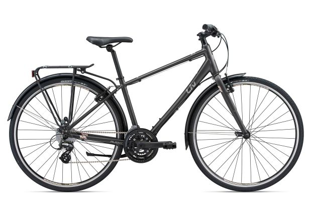 Giant Liv Alight City 2  24-speed Matte Charcoal/Pastel L $550