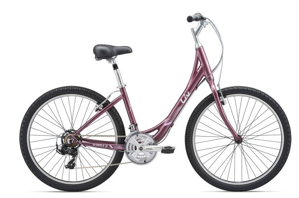 Giant Liv Sedona 21-speed Satin Grey Purple XS/S $360