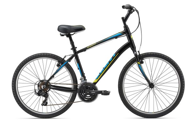 Giant Sedona 21-speed Silver/Charcoal Neon Red S/M/L $360