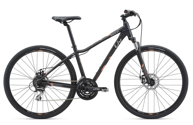 Giant Liv Rove 3 Disc 24-speed Metallic Blk S/M/L $490