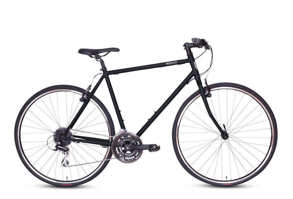 "Brooklyn Bicycle Co. Roebling 17"" Raw $520"