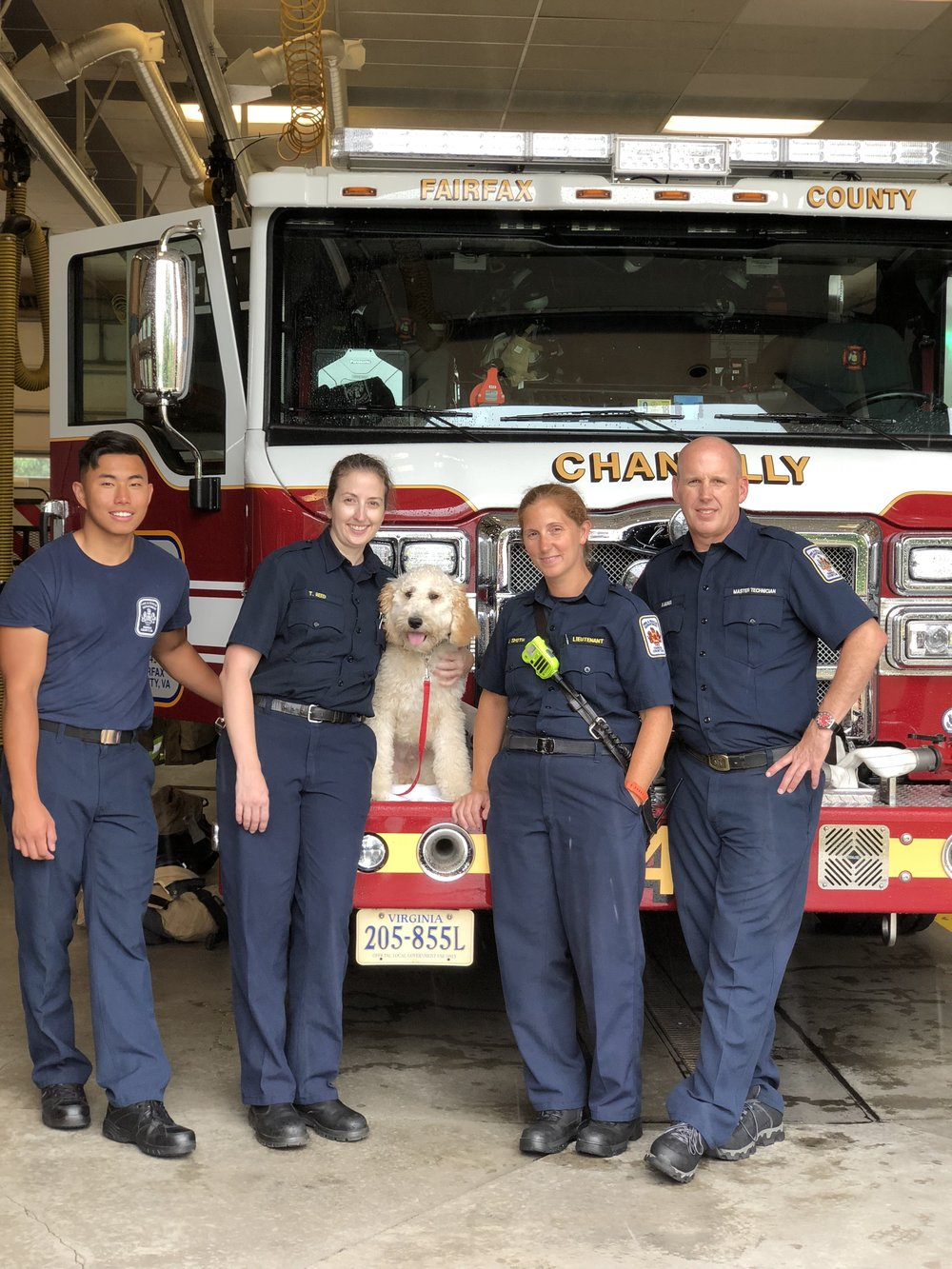 Firehouse station 15 and Xander.jpg