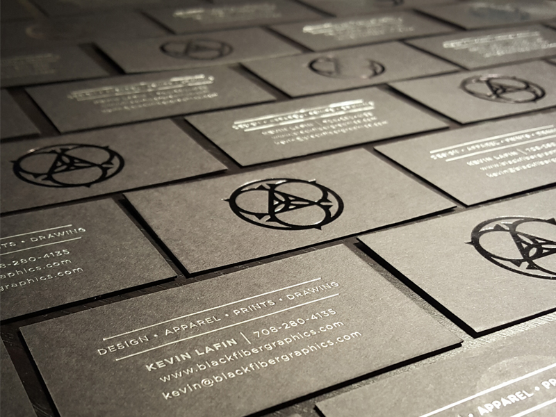 BlackFiberGraphics Business Cards