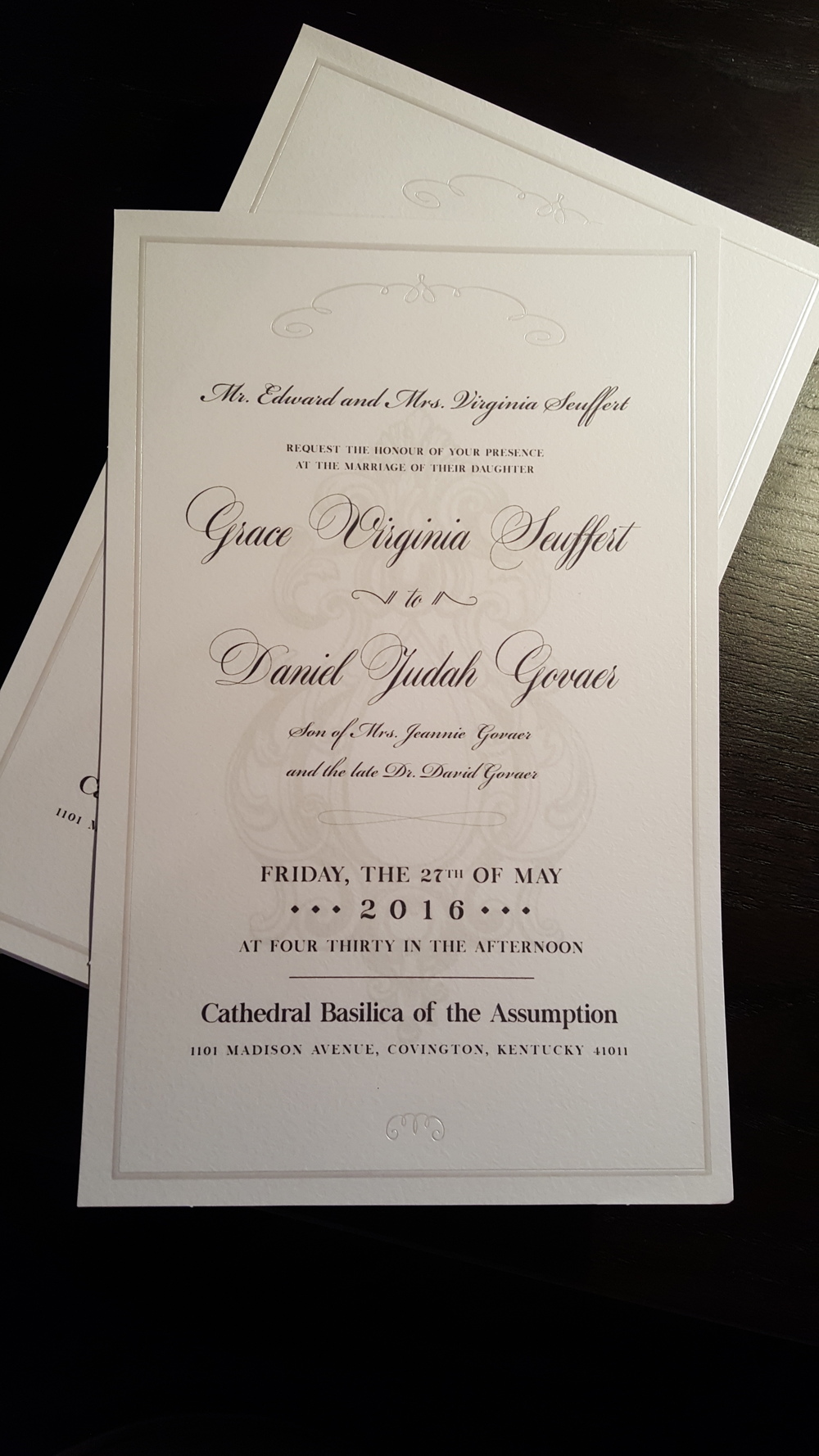 Govaer Wedding Invitations