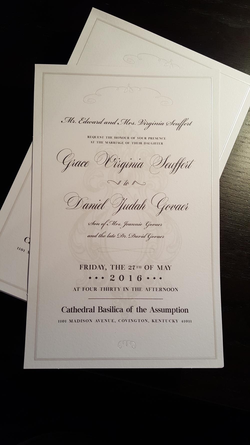 Govaer Wedding Invitations
