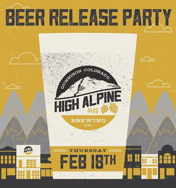 beer event poster design colorado