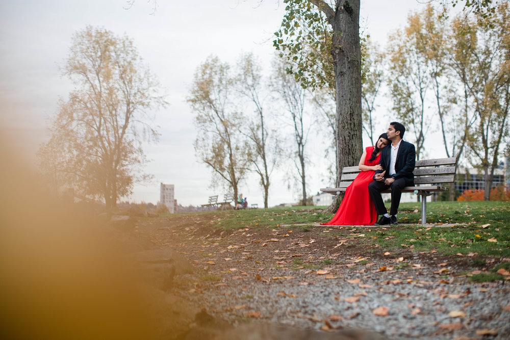 Olympic Sculpture park Engagement photos by adina preston weddings. Affordable Seattle wedding Photographer