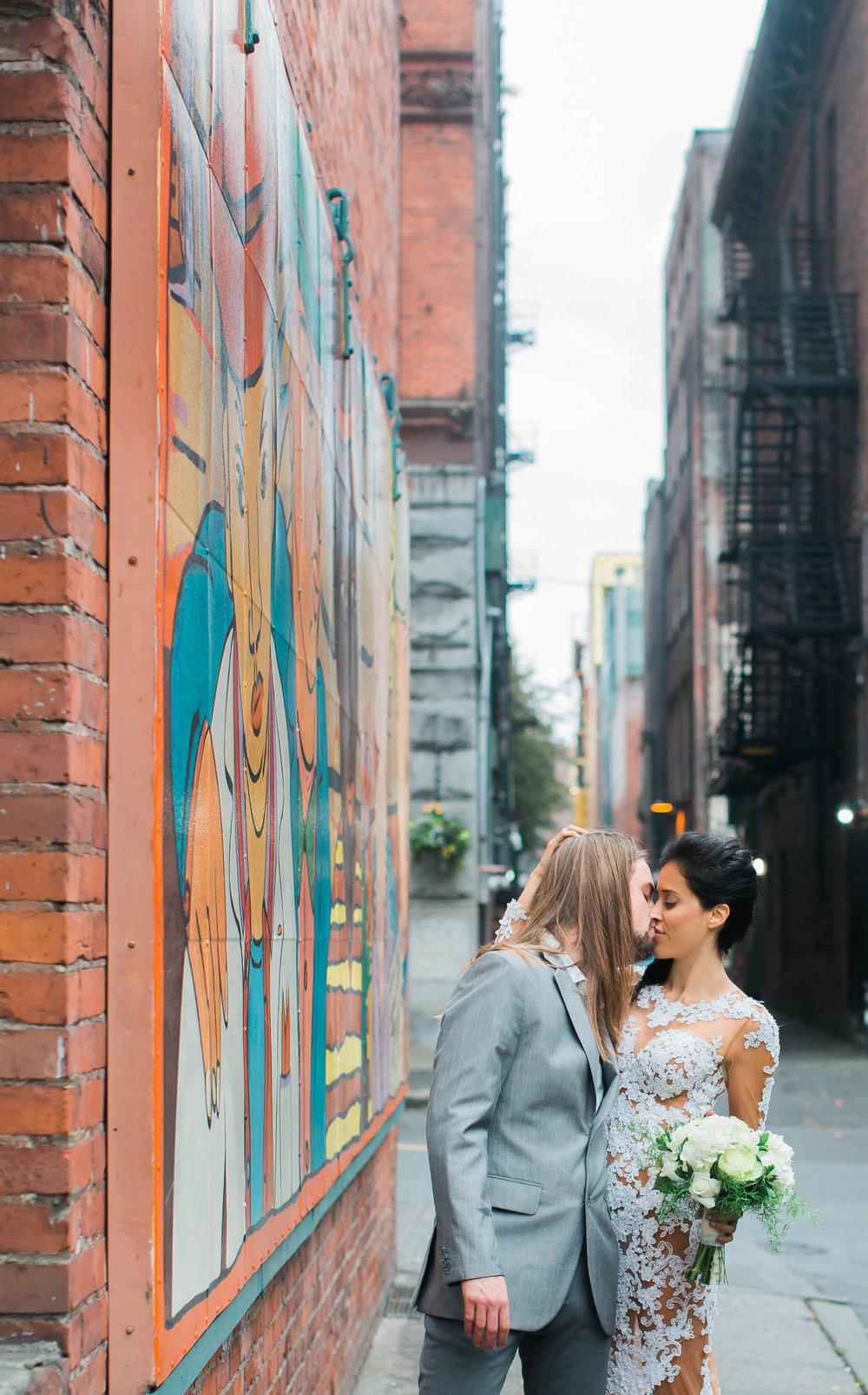 Pioneer Square Engagement Photos