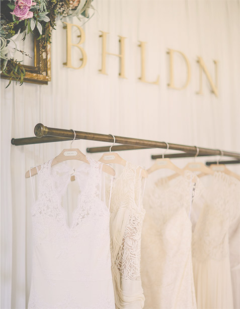 BHLDN AT ANTHROPOLOGIE I SEATTLE      www.bhldn.com/stores-seattle/     Our second west coast shop-in-shop is conveniently located on the upper level of Anthropologie in the heart of Seattle's Downtown Shopping District. We knew it was perfect when we took in the beautiful design of the building's original façade and saw natural light pouring in on all levels of the store; really, the space seemed to be made for brides trying on wedding dresses.  Drop in to browse our assortment of bridesmaid dresses, accessories, mother of the bride dresses, and party décor, too! Only blocks from quintessential must-sees, like the historic Pike Place Market, Seattle Waterfront, and Space Needle, our bridal shop is also just a stone's throw from the most charming restaurants and coffee shops, perfect for making a day out of wedding dress shopping.