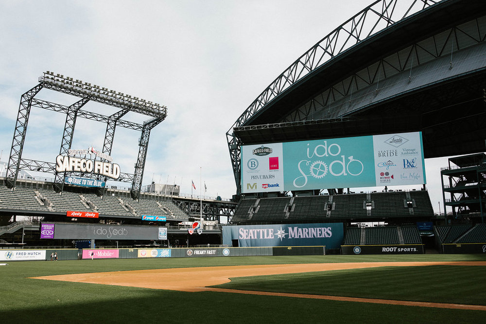 i do sodo wedding event - the diamond club at safeco field