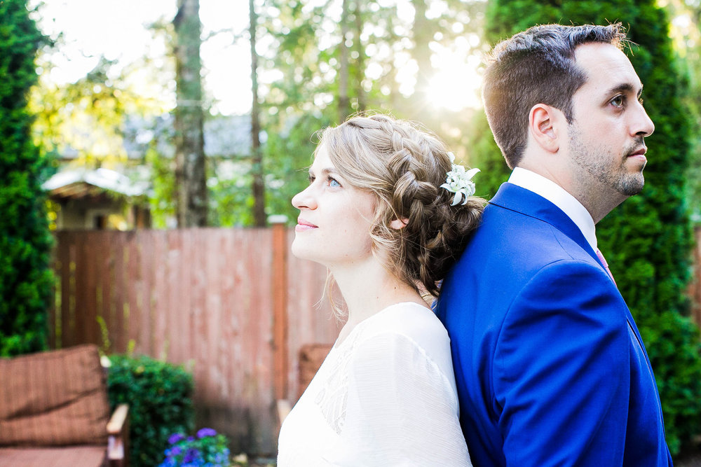 A Beautiful Spanish Backyard Wedding in Woodinville, Seattle // Katya + Franco