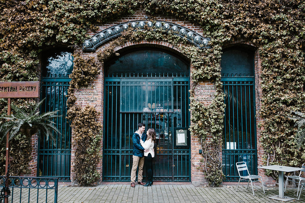 Pioneer Square Engagement downtown Seattle