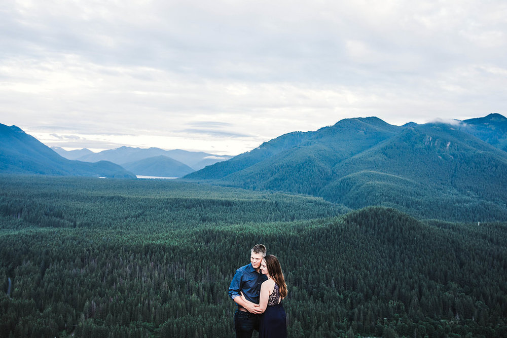 Adventure Engagement at Rattlesnake Lake & Trail // North Bend, WA // Eivind & Elyse