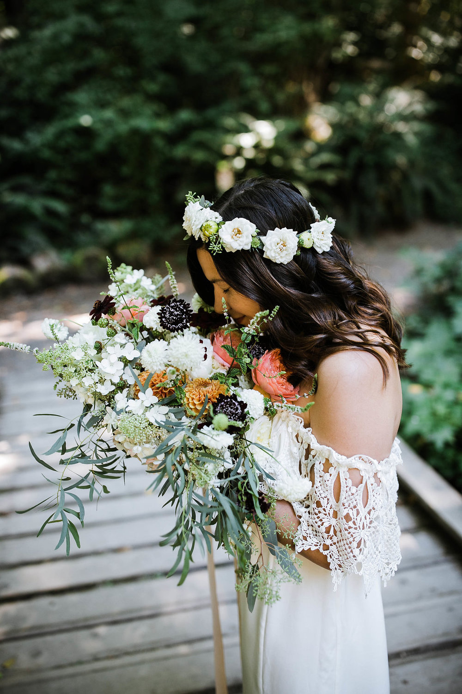 seattle bride photos at carkeek park wedding photos by seattle wedding photographer adina preston