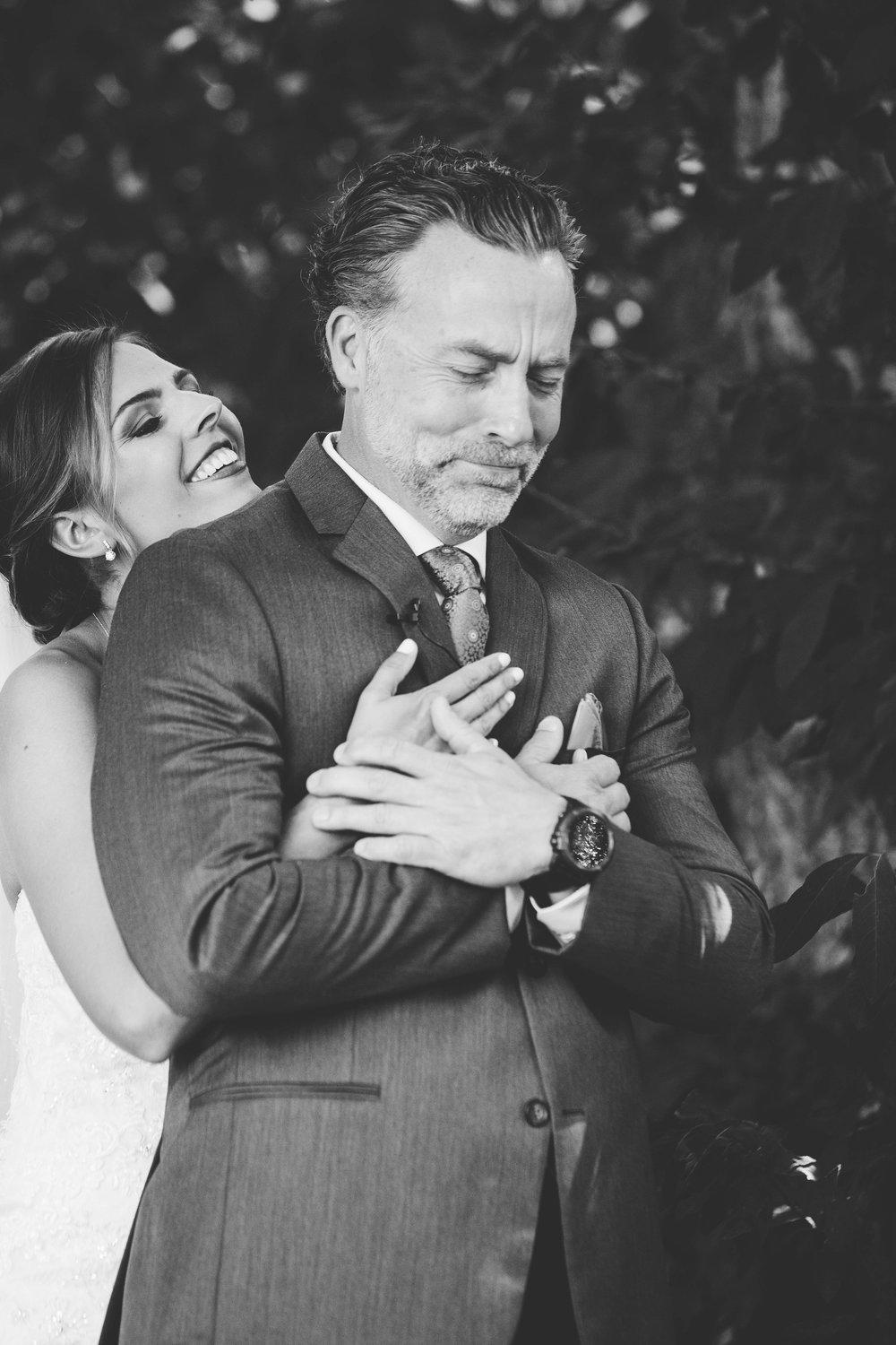I'm a 'wear my heart on my sleeve' type of girl,I love to capture emotion. This type of shot is a moment all the girls dream of, the 'First Look', so I'm always there waiting for it, as I know how important it is to you! These moments are what make your wedding day what it is - purrrfect!