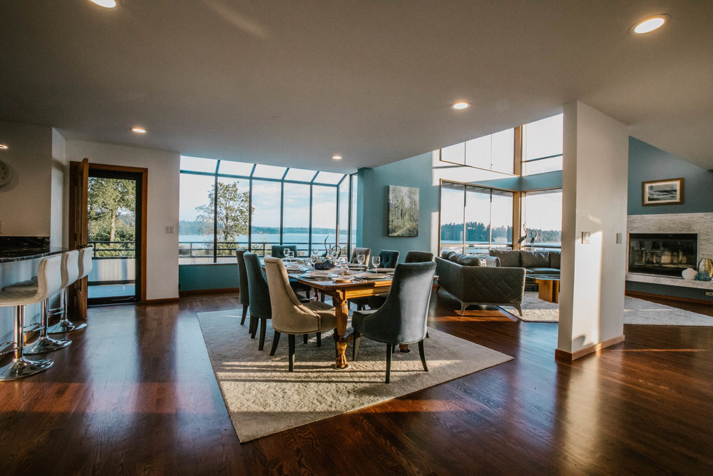 real estate photography - home for sale in Mercer Island