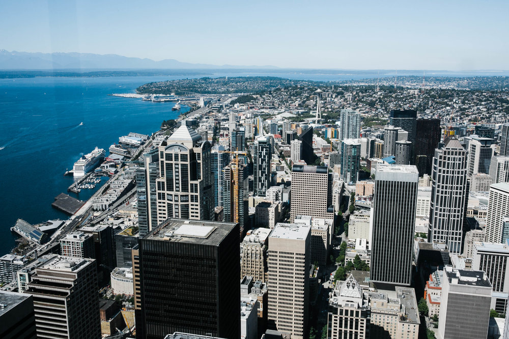 Corporate event at Columbia Tower in Seattle