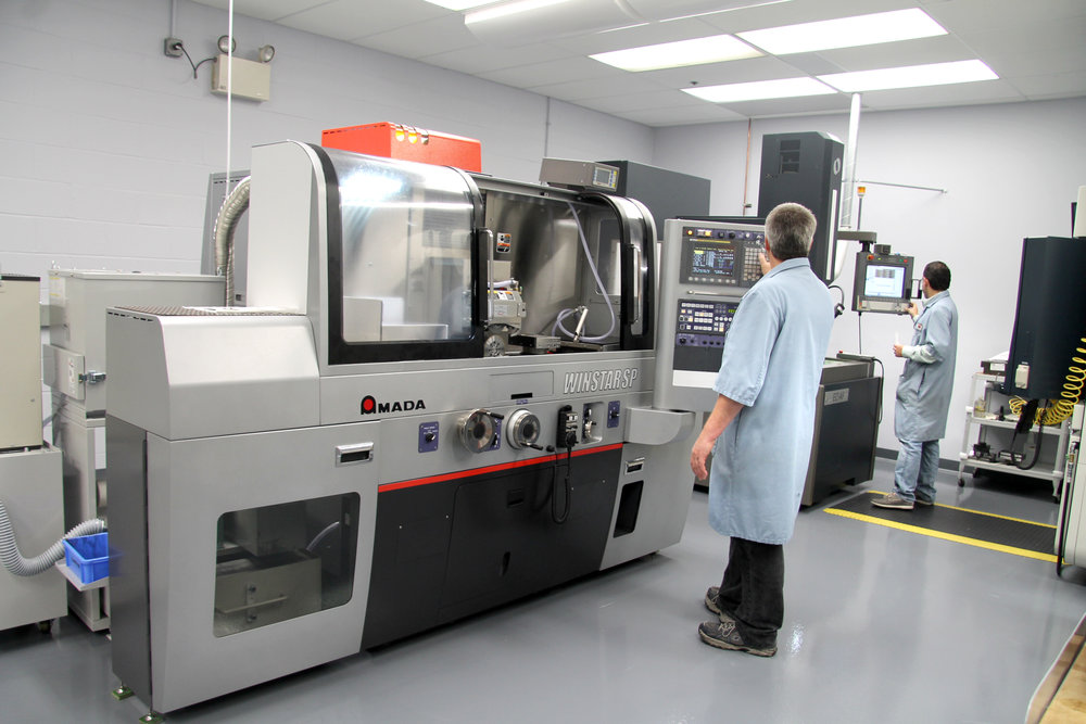Weiss Aug's New CNC Technology Center