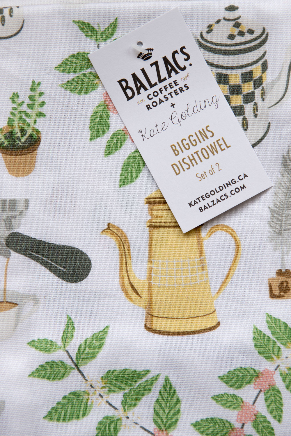 Kate Golding for Balzac's Coffee Roasters