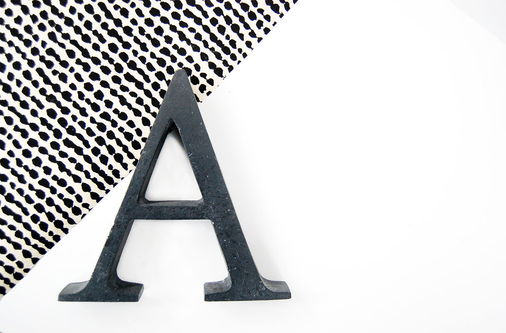 THE ALPHABET COLLECTION -