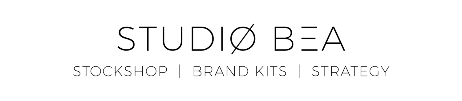 Studio Bea | Styled Stock + Brand Kits
