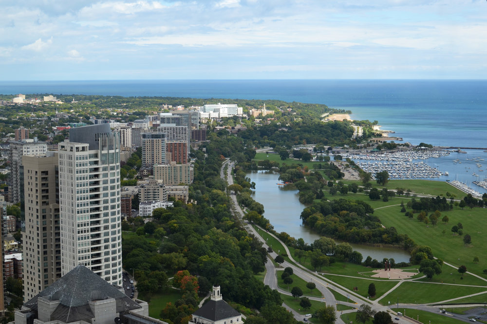 Picturesque downtown Milwaukee, as well as surrounding areas, will be impacted by climate change through shifting water levels, weather patterns, and water quality.