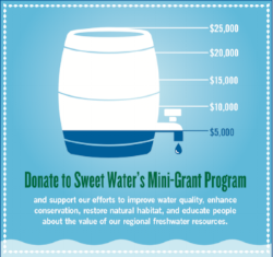 Learn about, apply, or invest in improved water quality in the Milwaukee River Watershed.