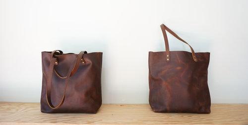 25a42b0c2e Distressed Leather Tote