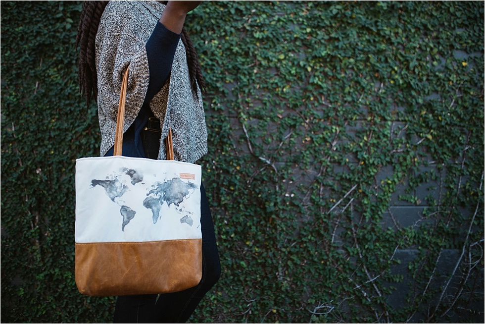 FEATURED ITEM: WORLD MAP BETTER LIFE BAG!!!