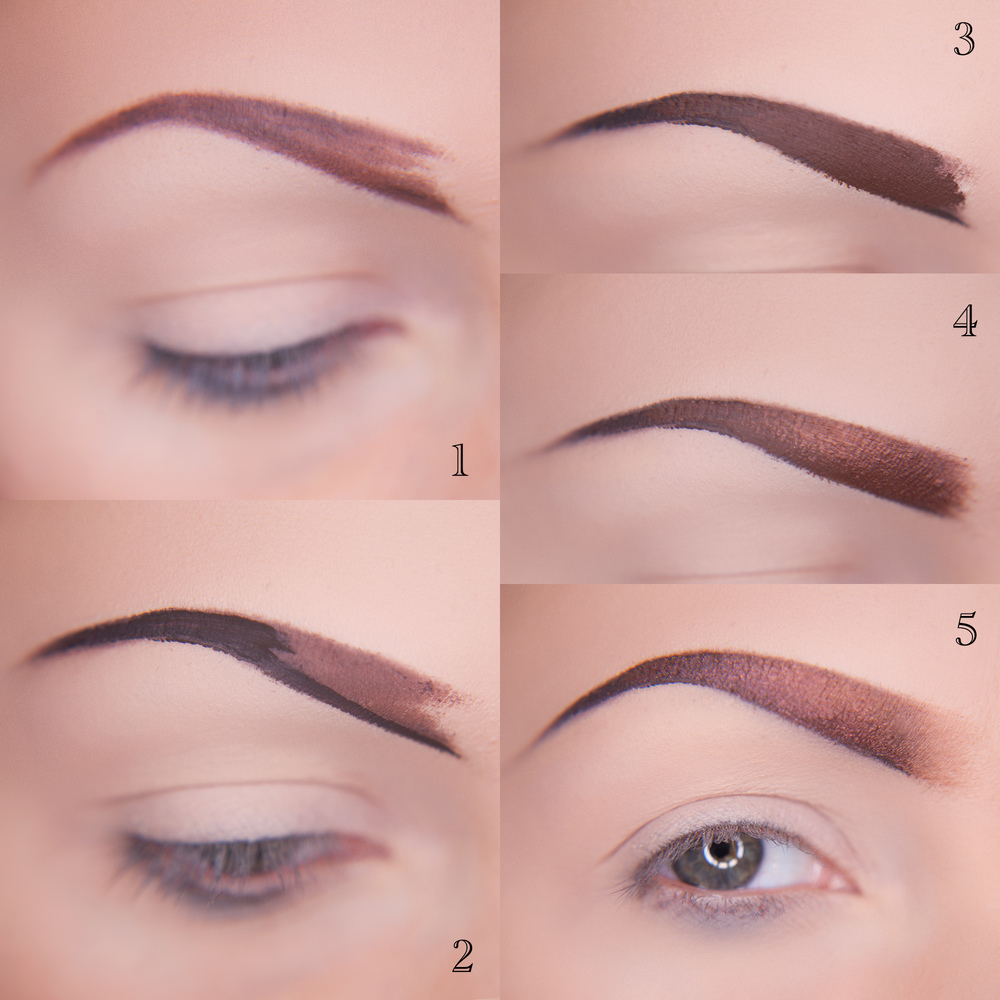 Tutorial Eyebrows Anna Swiczeniuk Photography