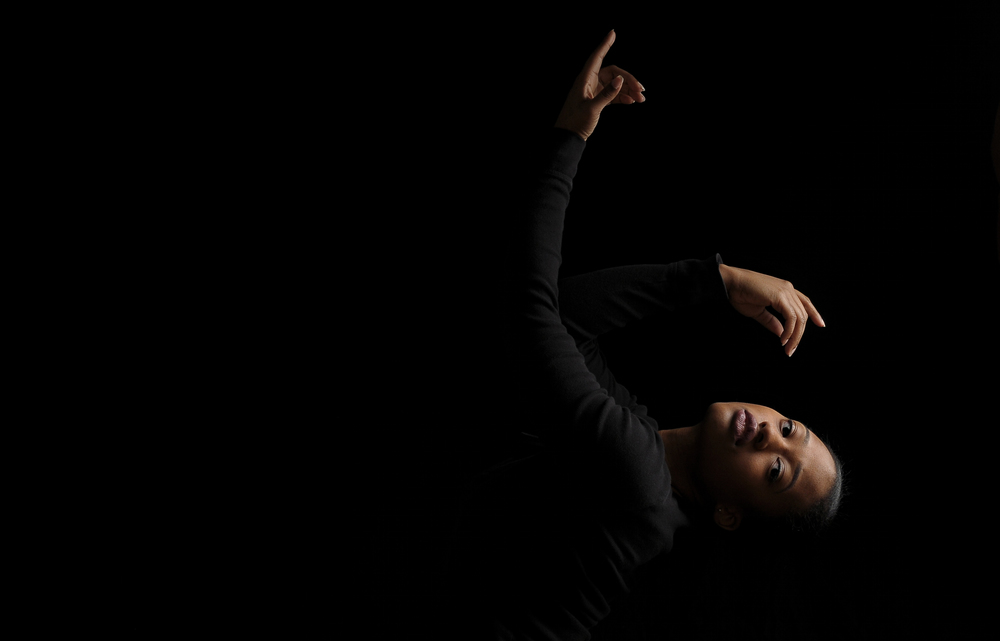 Pictured: Paris Jones (Dance Major '16) Photo Credit: Yasmeen Enahora (Sports Medicine Major '16, Dance Minor)