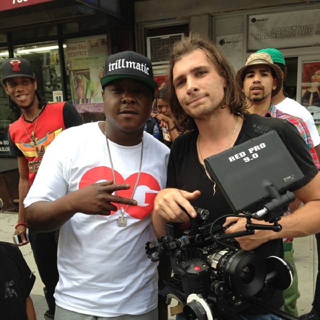Shooting 3rd Jadakiss video
