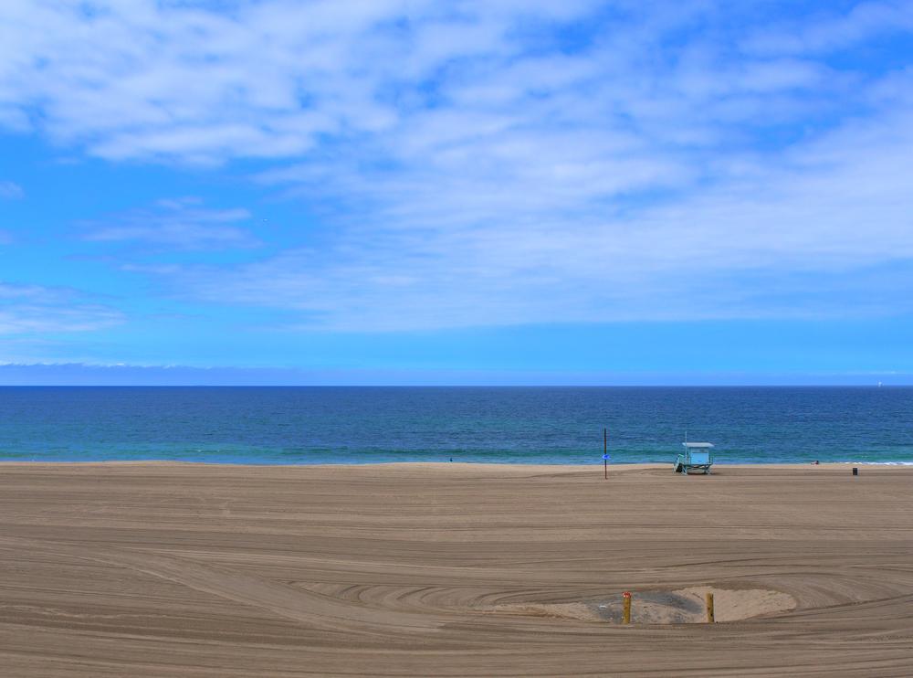 View of Surfridge overlooking the ocean