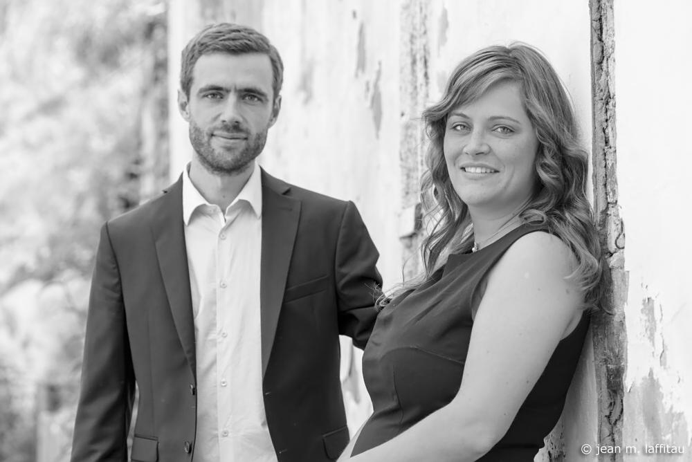 Clemens Seibert und Claudia Seng!
