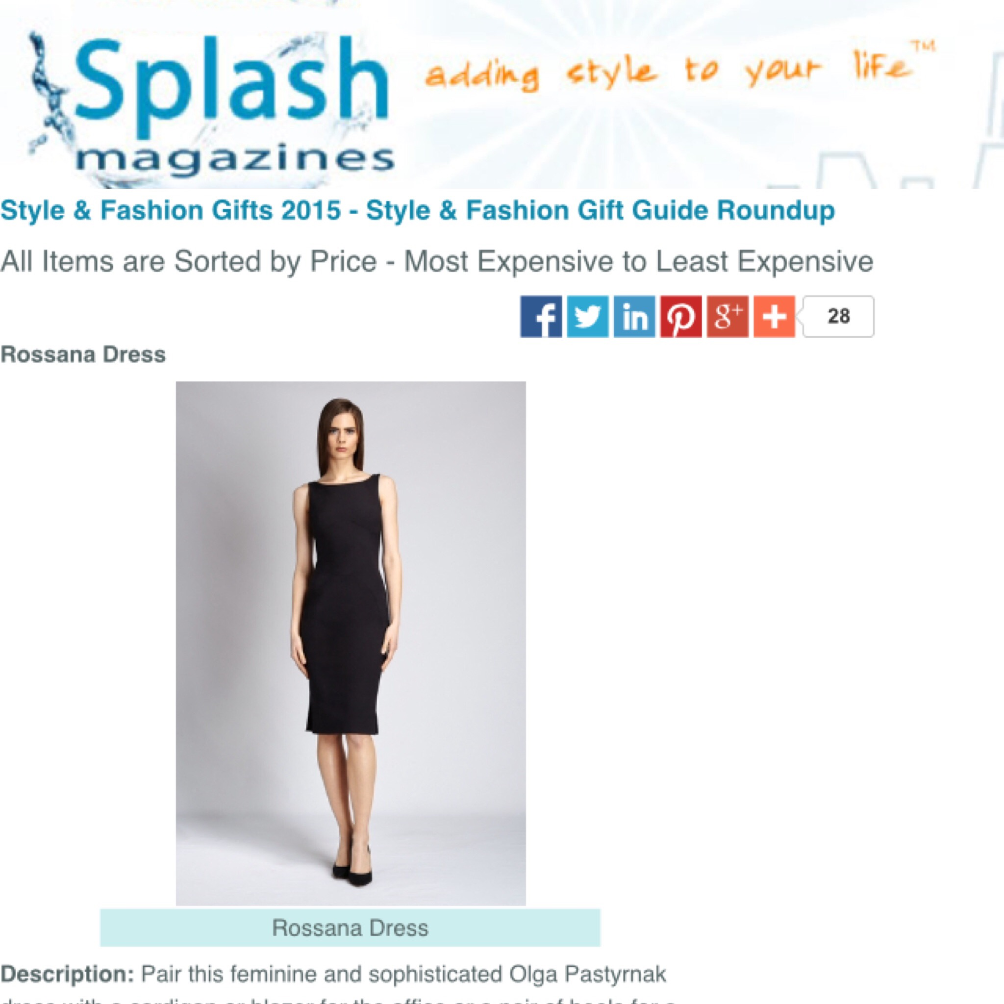 Splash Magazine Online, September 16, 2015