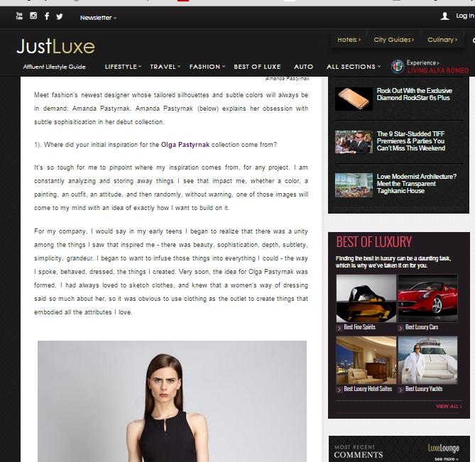 www.JustLuxe.com, August 28, 2015