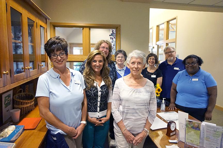 Staff at Rose Arbor