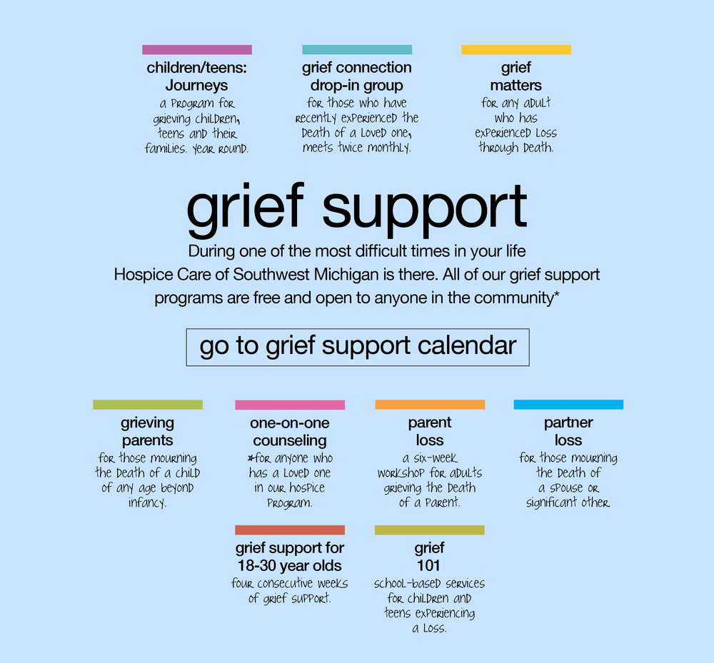 Hospice Care of Southwest Michigan Grief Support Services