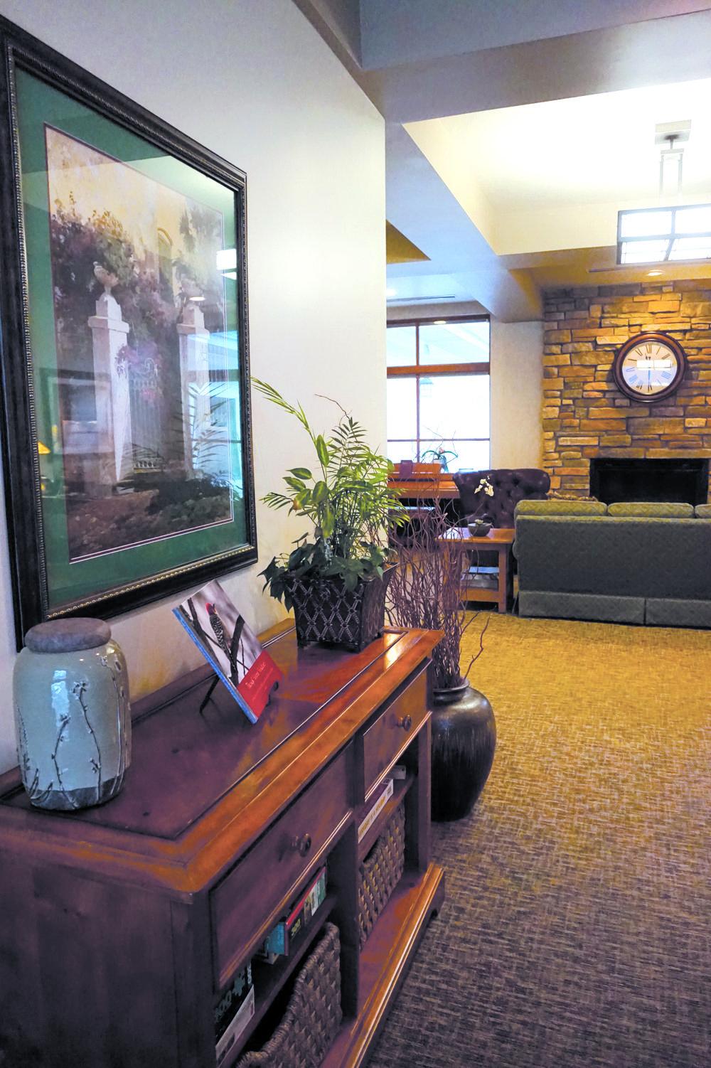 The Glenn Arbor great room