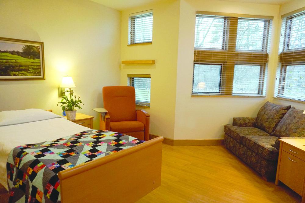 Client room at Rose Arbor