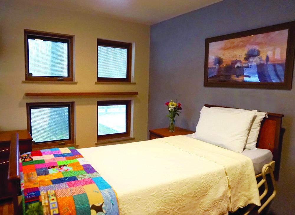 A client room at Glenn Arbor