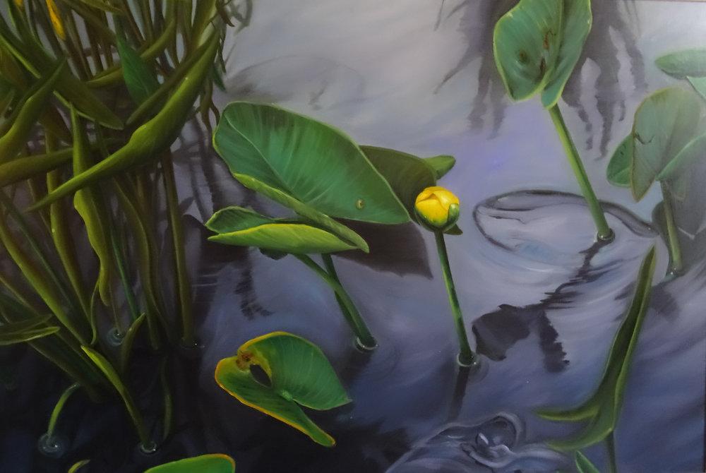 Original artwork enhances the beauty of Rose Arbor Hospice Residence