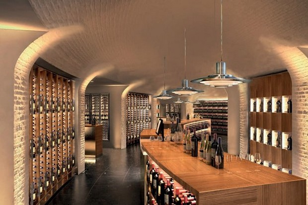 The Cellar at La Grande Épicerie de Paris (Photo Credit lesgermanopratines.com)