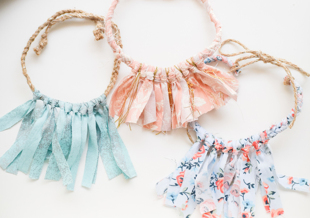 DIY Baby Boho Necklace Tutorial