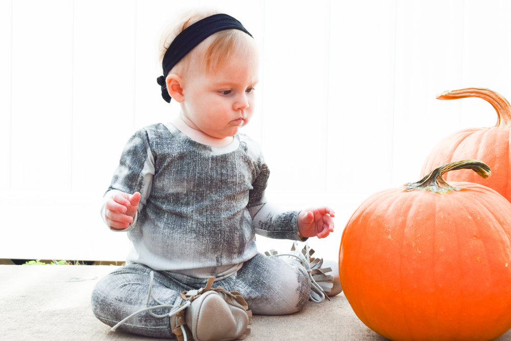 FALL BABY FASHION | Unisex Baby Romper