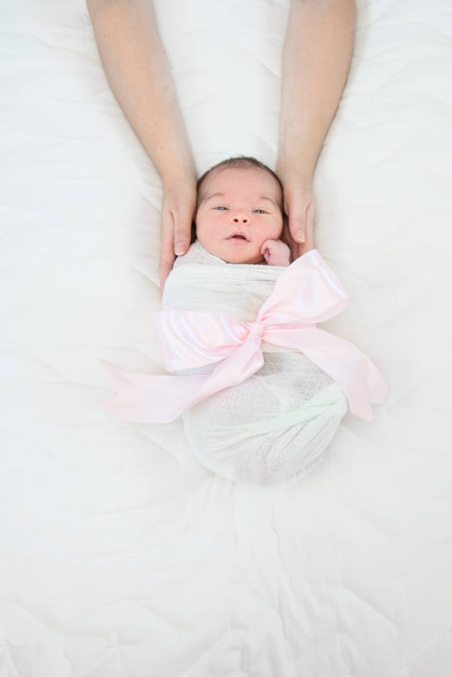Baby Girl Newborn Photos - Reflecting Grace Photography
