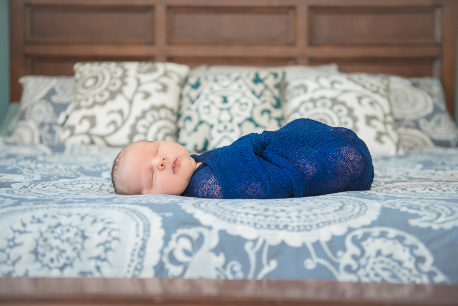 Baby Boy Newborn Photos - Reflecting Grace Photography